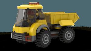 Demolition Site - Tipper Truck (60076)