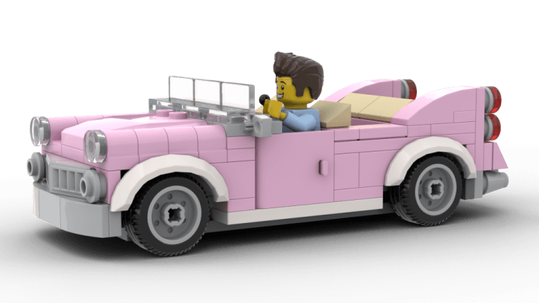 Downtown Diner Car (10260)
