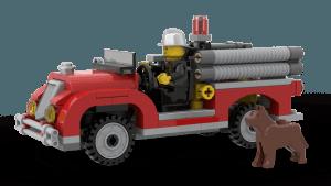 Fire Brigade Fire Truck (10197)