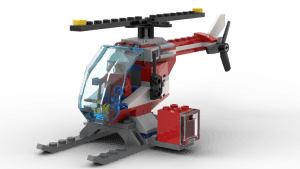 Medical Emergency Helicopter (60204)