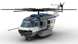 Large Police Helicopter (60046)
