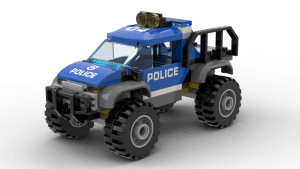 Mountain Police Headquarters - Mountain Police Car (60174)