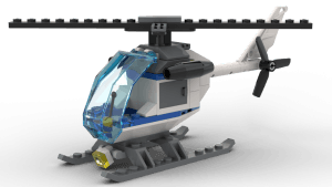 Police Station - Police Helicopter (60047)