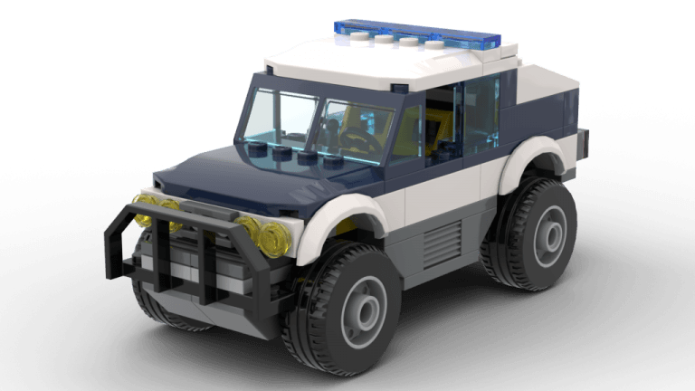 City High Speed Chase Police Truck (60007)