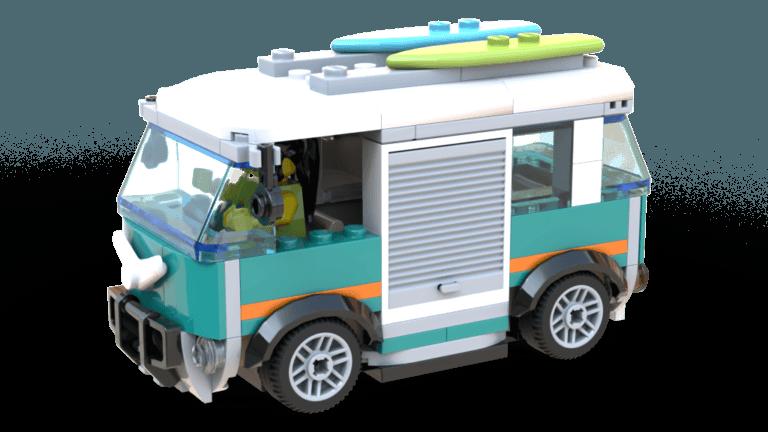 Service Station - Camper minibus (60257)