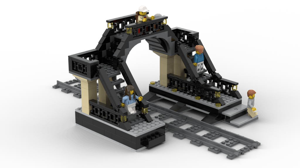Train Station Pedestrian Bridge v1.0_8